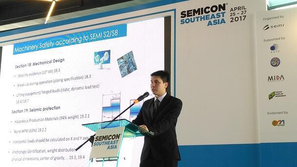 presenting SEMI in SEMICON2017 about semiconductor safety