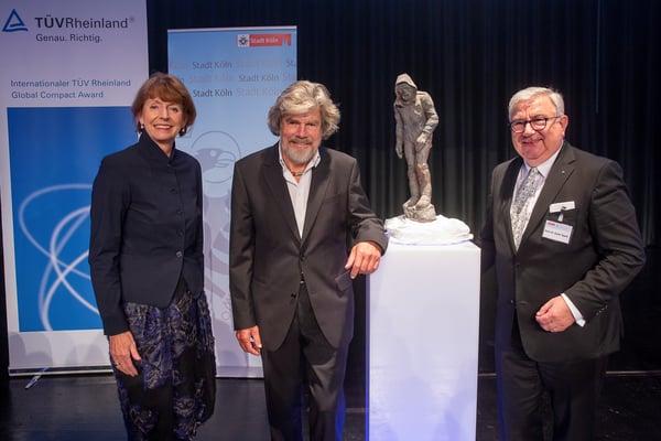 International TÜV Rheinland Global Compact Award 2021 Rheinhold Messner