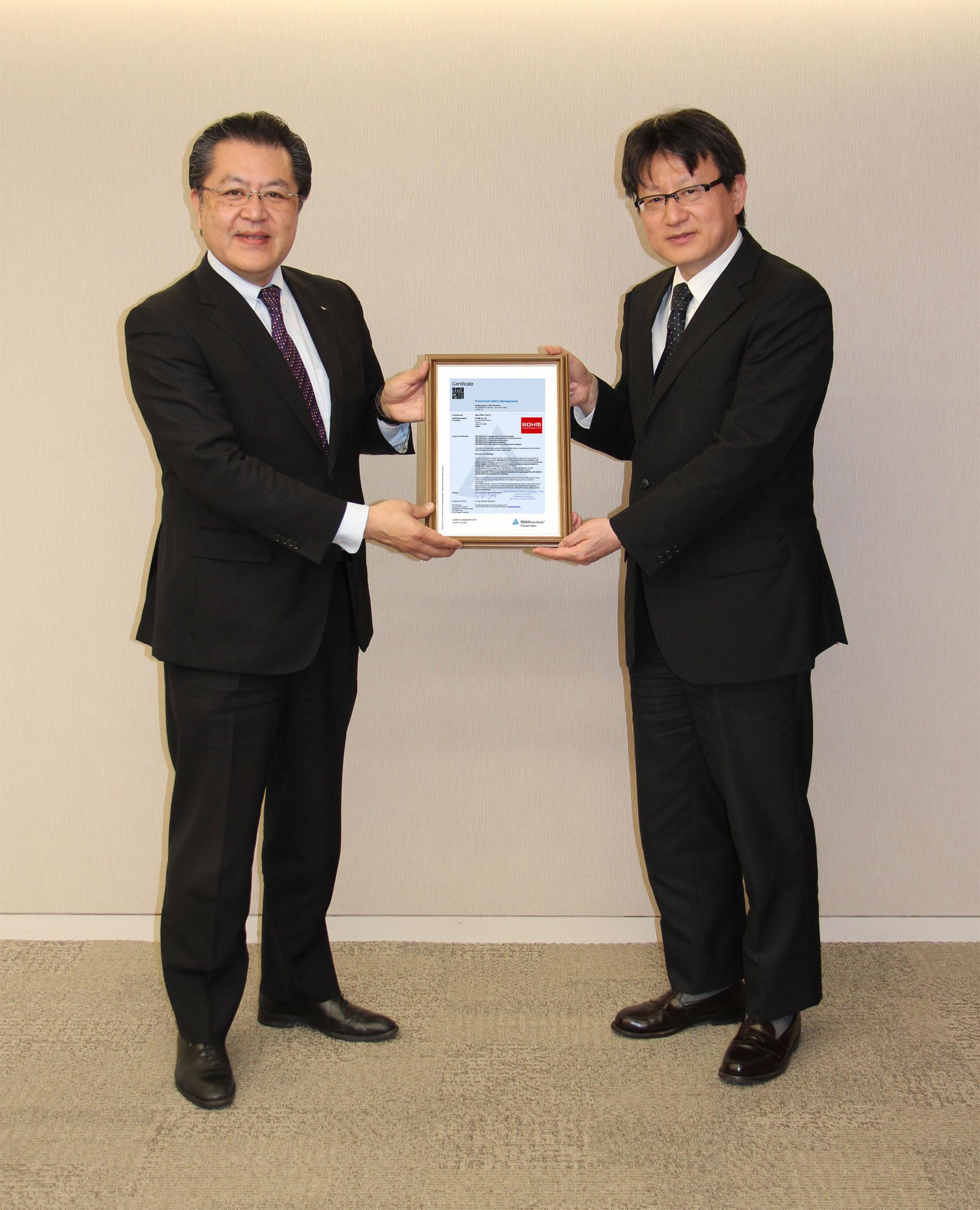 Press Release ROHM FS certificate